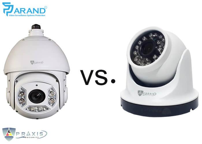 دوربین مدار بسته اسپید دام با دوربین دام چه تفاوتی دارد