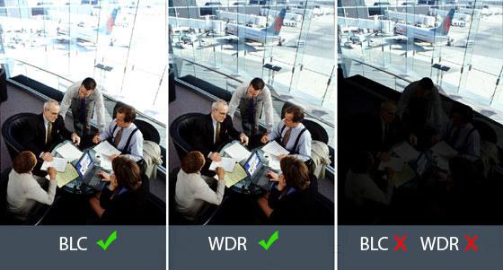 wdr blc dwdr camera - تفاوت دوربین مداربسته پلاک خوان با دوربین مداربسته معمولی
